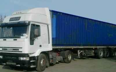 Аренда контейнеровоза. Грузоперевозка до 20т - Москва