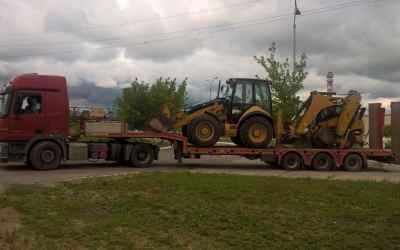 Услуги и заказ тралов, перевозка строительной техники - Щелково