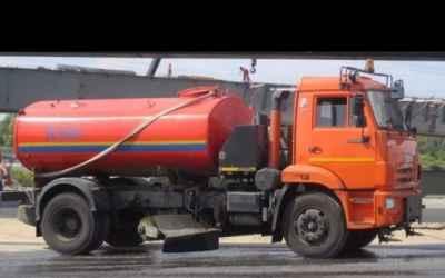 Заказ цистерны с водой поливомоечной машины - Москва