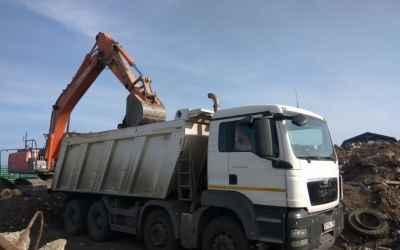 Вывоз грунта, строительного мусора самосвалами - Подольск, цены, предложения специалистов