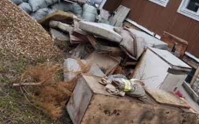 Осуществим вывоз строительного мусора,хлама - Луховицы, цены, предложения специалистов
