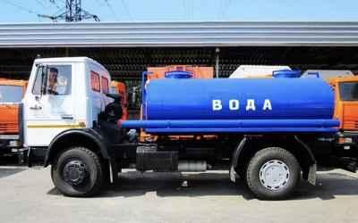 Привезем воду водовозом (технической и питьевой) - Москва, цены, предложения специалистов