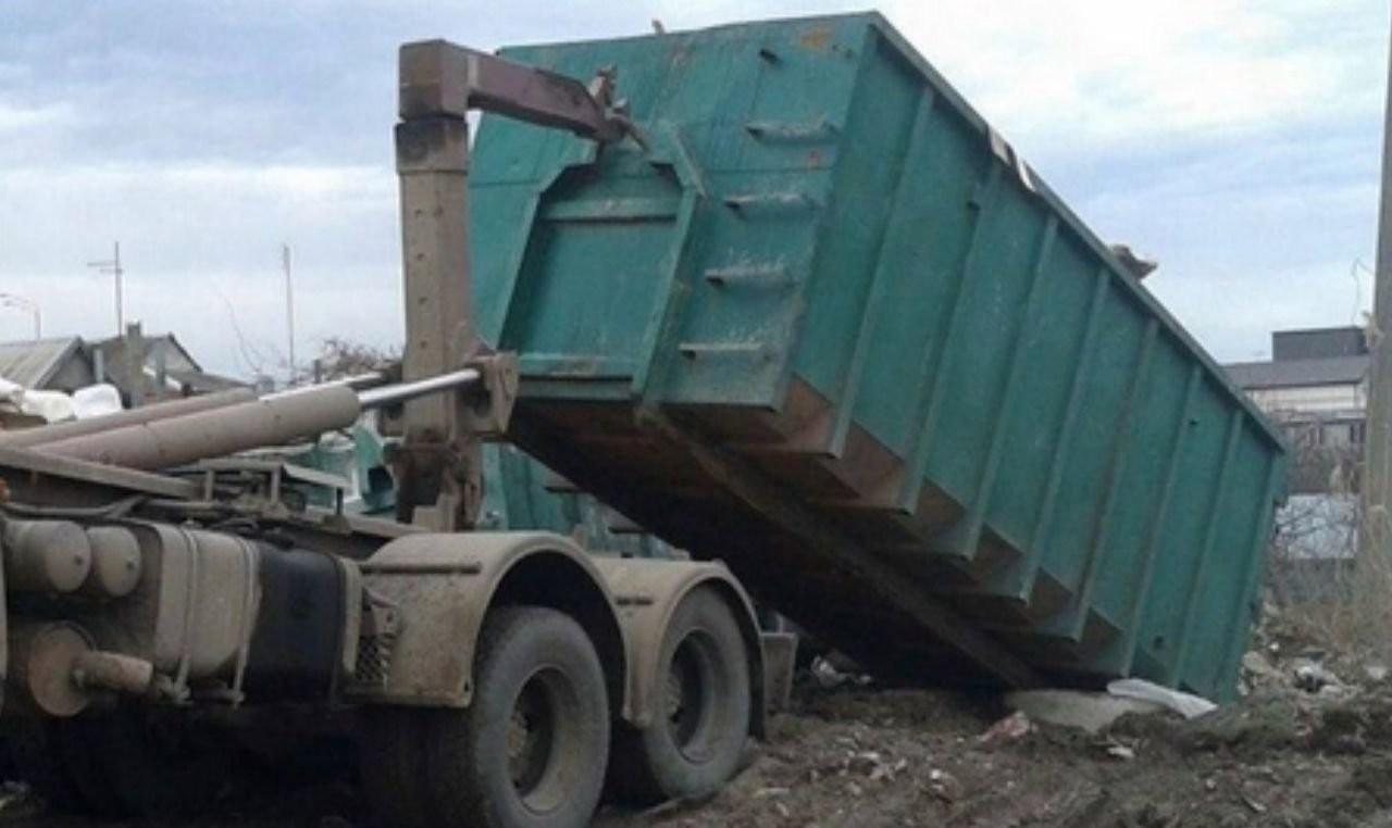 Вывоз мусора контейнер 20 м3 строительный - Москва, цены, предложения специалистов