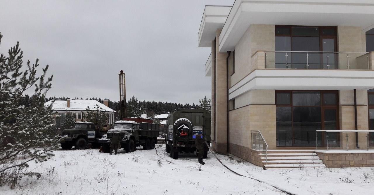 Бурим скважины на воду - Дедовск, цены, предложения специалистов